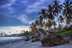 Playa de Jasri imagen de archivo libre de regalías
