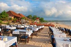 Playa de Jimbaran Imagenes de archivo