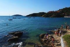 Playa de Joao Fernandes, Buzios Imagen de archivo libre de regalías