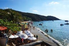 Playa de Joao Fernandes, Buzios Foto de archivo libre de regalías
