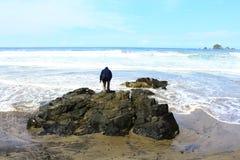Playa de Jolosutro Fotos de archivo