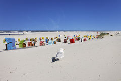 Playa de Juist Fotos de archivo