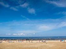 Playa de Jurmala Fotos de archivo