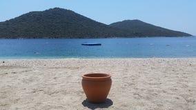 Playa de KaÅŸ Fotografía de archivo