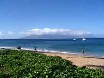 Playa de Kaanapali Foto de archivo