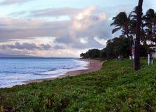 Playa de Kaanapali en Maui Hawaii Fotos de archivo