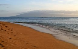 Playa de Kahana Fotos de archivo