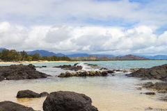 Playa de Kailua Imagenes de archivo