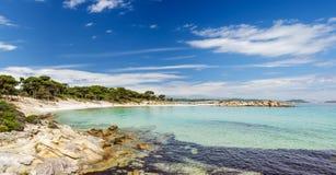 Playa de Karidi Fotografía de archivo