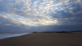 Playa de Karridene Imagen de archivo libre de regalías