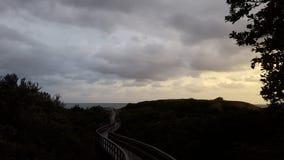 Playa de Karridene Fotos de archivo