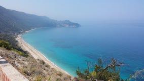 Playa de Kathisma Fotos de archivo libres de regalías