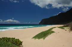 Playa de Kauai fotos de archivo