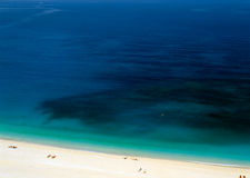 Playa de Kefalonia Foto de archivo