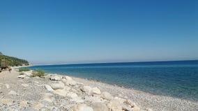 Playa de Kemer Turkiye Fotos de archivo