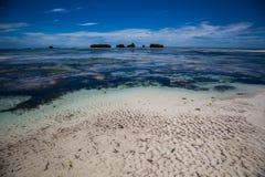 Playa de Kenia Imágenes de archivo libres de regalías