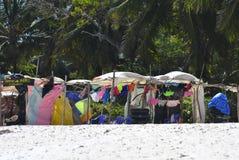 Playa de Kenia del departamento Fotografía de archivo