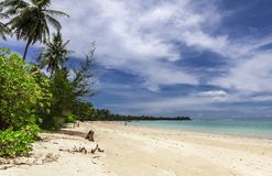 Playa de Khao Lak fotografía de archivo