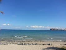 Playa de Khorfakkan Imagenes de archivo