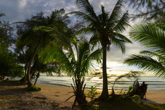 Playa de Klong Prao Foto de archivo libre de regalías