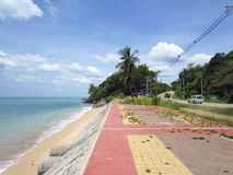 Playa de Klong Tob, ubicación en la isla de Lanta Fotografía de archivo libre de regalías