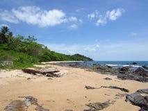 Playa de Klong Tob, ubicación en la isla de Lanta Fotos de archivo libres de regalías