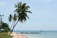 Playa de Klong Tob, ubicación en la isla de Lanta Fotografía de archivo