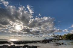 Playa de Ko Olina Fotografía de archivo libre de regalías