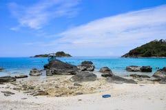 Playa de Koh Chang en Tailandia Fotografía de archivo libre de regalías