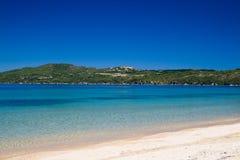 Playa de Komitsa Fotografía de archivo libre de regalías