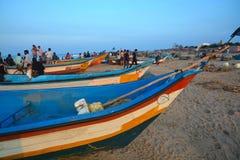 Playa de Kovalam Foto de archivo