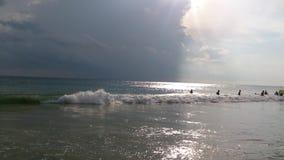 Playa de Kovalam fotos de archivo