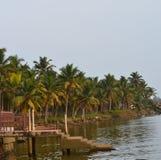 Playa de Kovalam - Kerala Imagenes de archivo