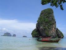Playa de Krabi Foto de archivo libre de regalías