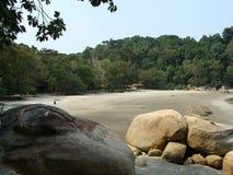 Playa de Kuantan Imágenes de archivo libres de regalías
