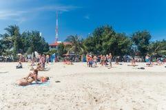 Playa de Kuta, Bali, Indonesia, Asia sudoriental Imágenes de archivo libres de regalías