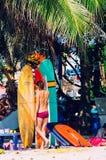 Playa de Kuta, Bali, Indonesia, Asia sudoriental Fotos de archivo libres de regalías