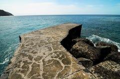 Playa de la Alojera Fotografia Stock