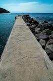 Playa de la Alojera Immagini Stock