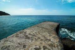 Playa de la Alojera Fotografía de archivo libre de regalías