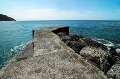 Playa de la Alojera Fotografie Stock