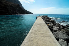 Playa de la Alojera Fotografia Stock Libera da Diritti