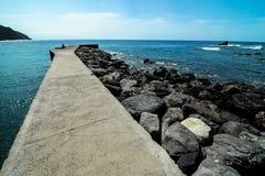 Playa de la Alojera Immagini Stock Libere da Diritti