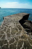 Playa de la Alojera Fotografie Stock Libere da Diritti