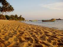 Playa de la arena Imagenes de archivo