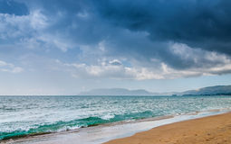 Playa de la arena Fotografía de archivo