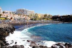 Playa de la Arena, Tenerife, Canary Islands, Spain Stock Photography