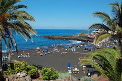 Playa de la Arena, Teneriffa Stockfotos