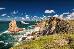 Playa de la Arnia royalty free stock images