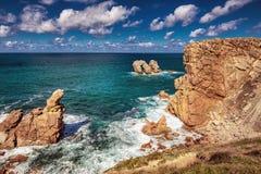 Playa de la Arnia royalty free stock image